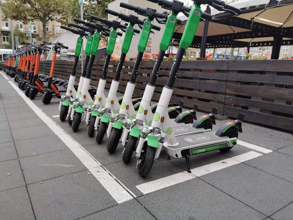 electric scooters in spain