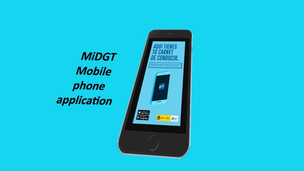 MiDGT mobile application