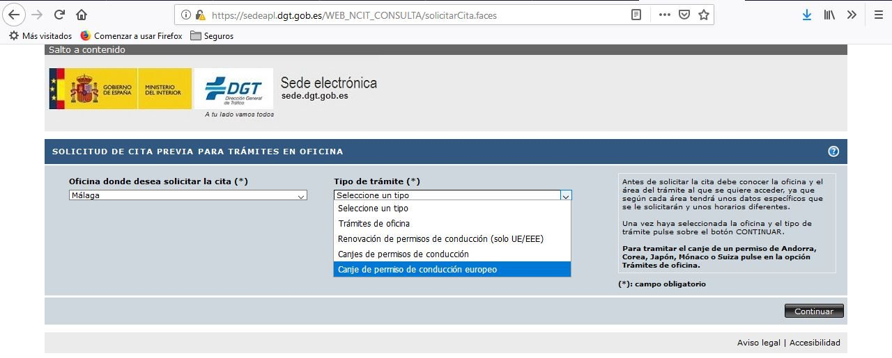 uk to spanish licence step by step 6