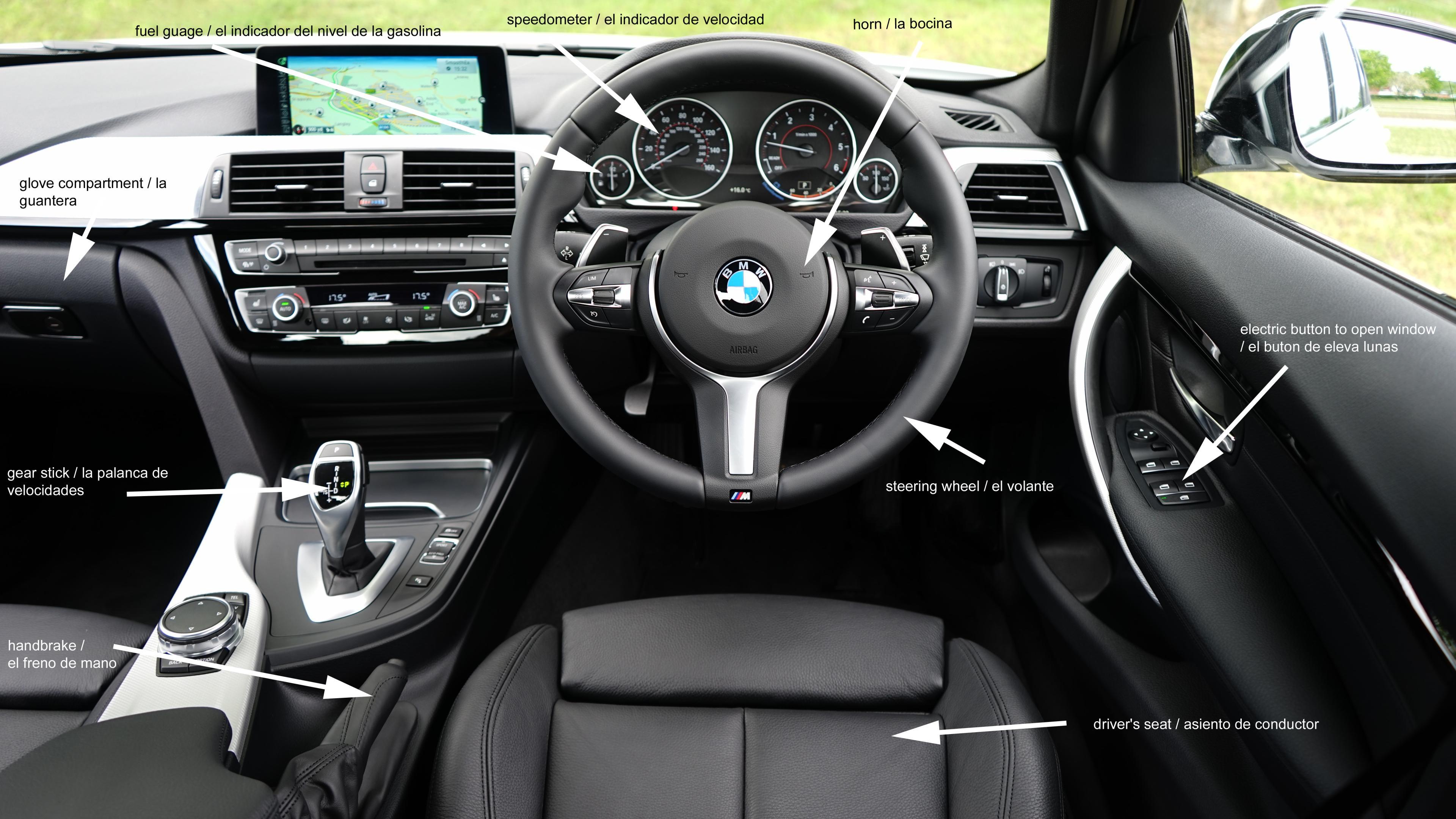 Car Insurance Spain car interior