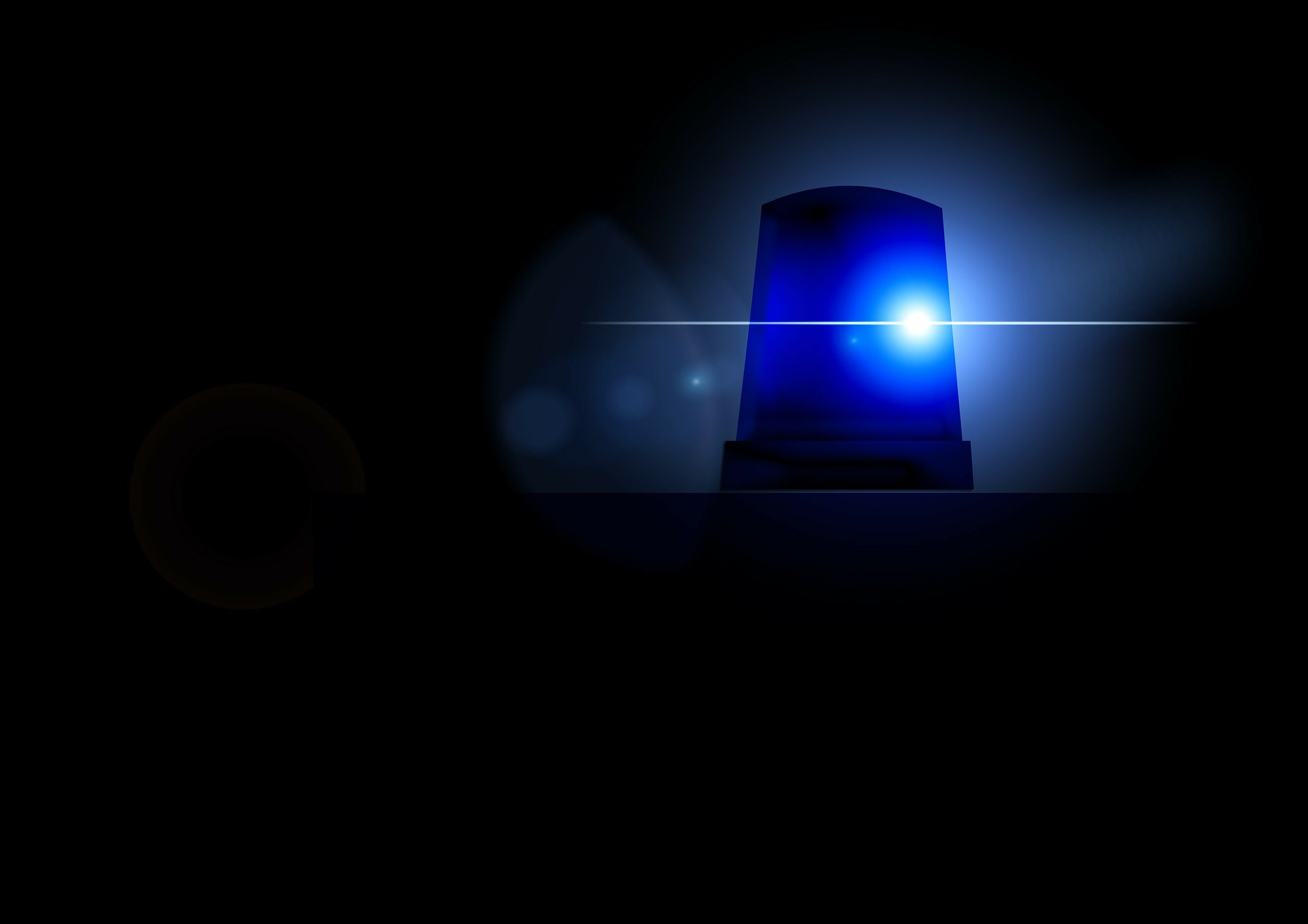 Blue lights for emergency vehicles in Spain