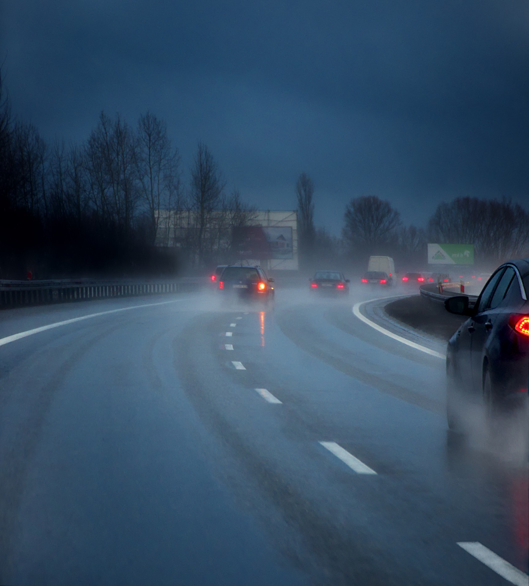 Aquaplaning car insurance spain