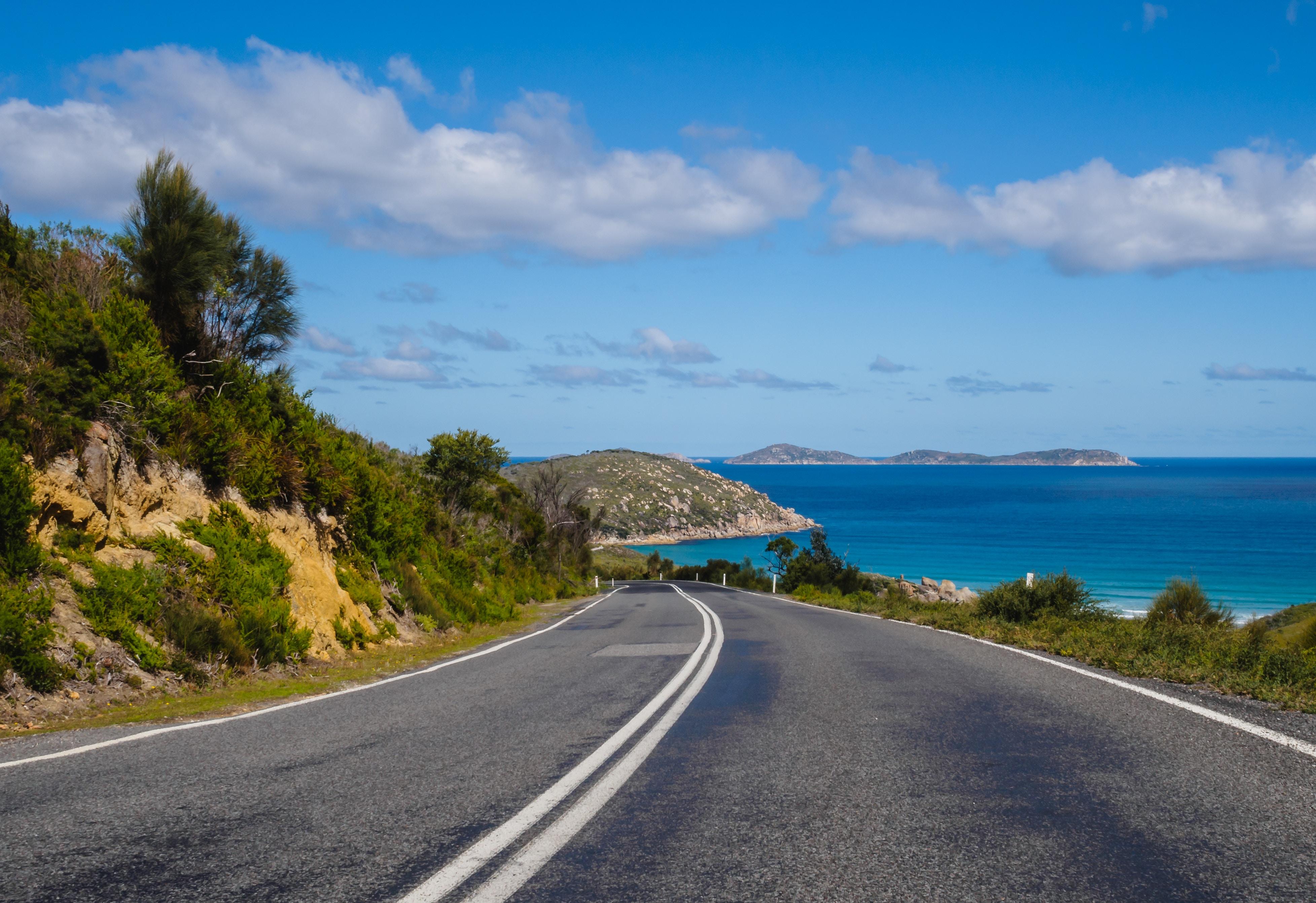 Car Insurance Spain coastal road
