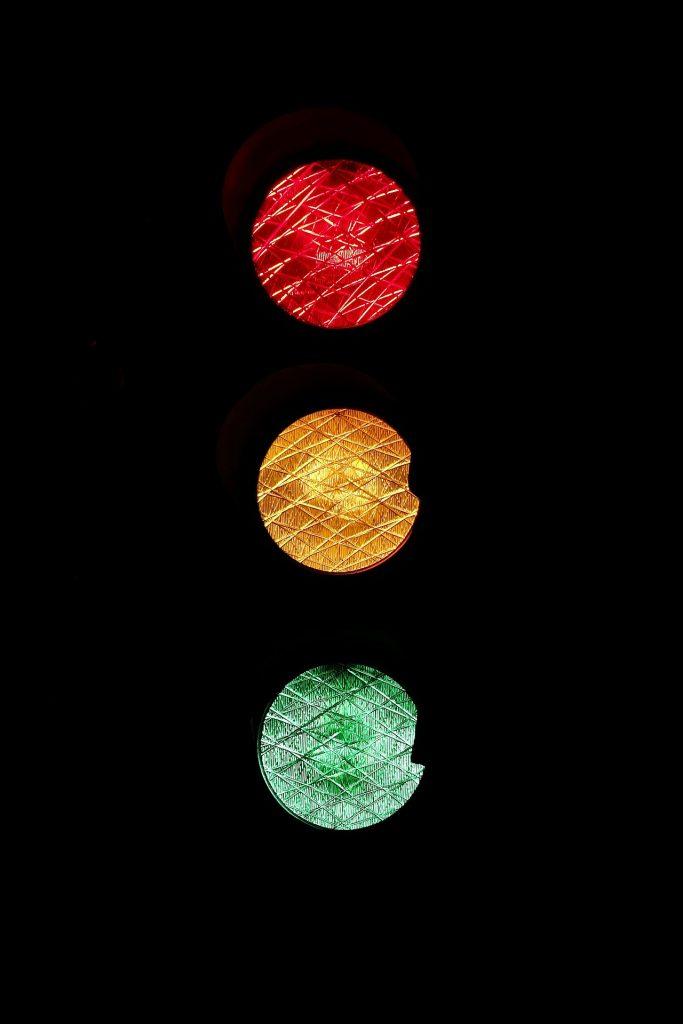 Car Insurance Spain Traffic Lights