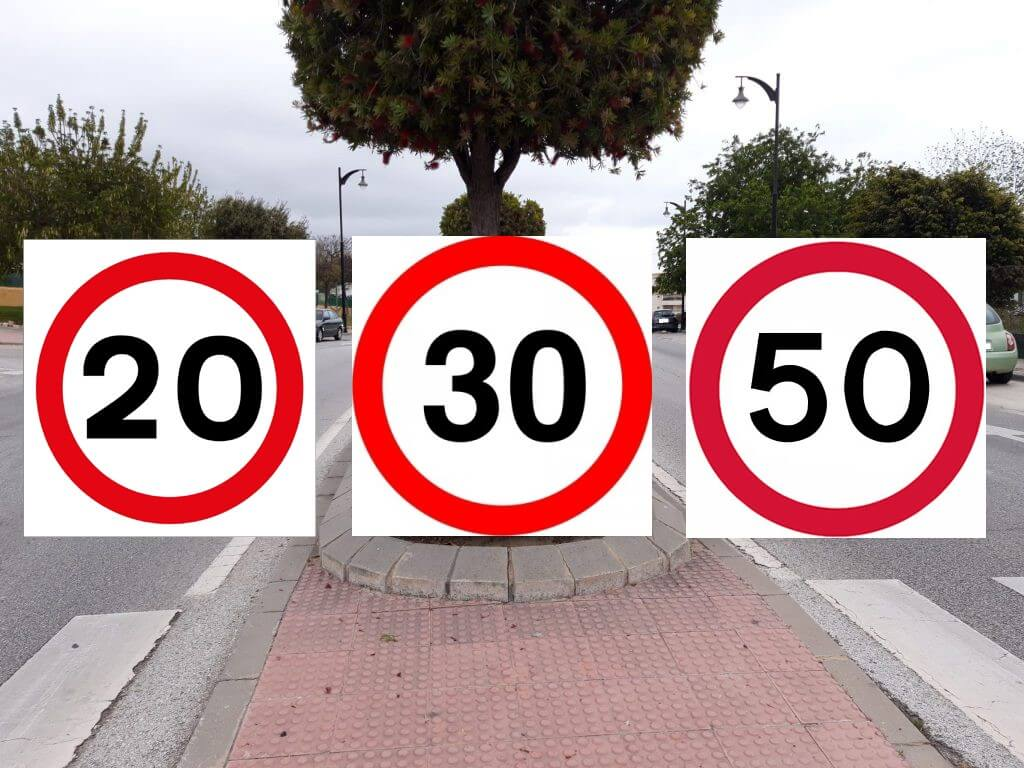 Speed Limits Spain from May 2021